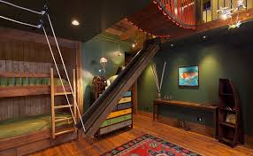 cool bedrooms for kids. Water Slide Awesome Bedrooms Kids Cool For .