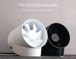 silent desk fan smart touch cooling fan ultra quiet powered portable desk fan touch sensor switch silent desk fan