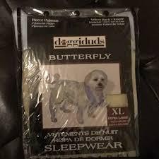 Doggiduds Fleece Pajamas Dog And Puppy Sleepwear Nwt