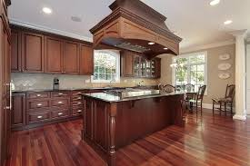 What Color To Paint Kitchen With Dark Cabinets Interesting Decorating Ideas