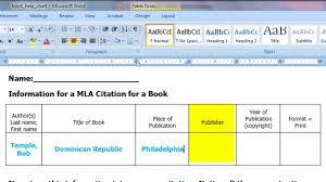 How To Cite A Print Book In Mla Formatmp4