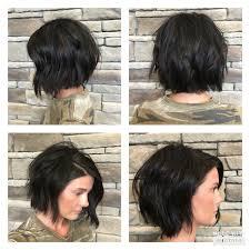 Texturized Modern Bob Studio603 Kapsels Kapsels Haar En Kort Haar