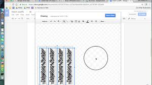 Flyer With Phone Number Tabs Creating Cutoff Strips In A Google Doc