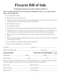 Motorcycle Bill Of Sale Custom Gun Sale Form Rifle Bill Of Template Firearm Virginia Automobile