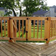 outdoor deck gate for extra security on your consider a safety incorporated in to the rail outdoor deck gate introduction safety