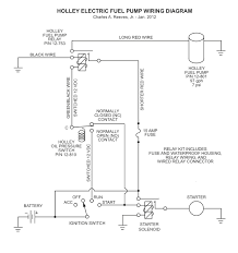 installing a holley electric fuel pump in 1966 mustang ford outstanding wiring diagram and relay