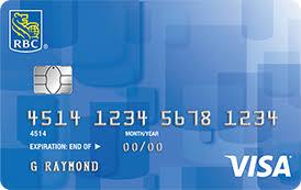 royal bank of canada rbc secured credit card