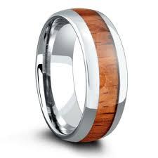 arcadia wedding band. 8mm wood wedding band crafted out of tungsten \u0026 koa arcadia i