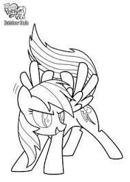 Rainbow Dash Coloring Page Free Download