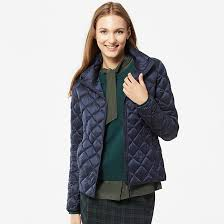WOMEN ULTRA LIGHT DOWN QUILTED JACKET, ultra light down water ... & WOMEN ULTRA LIGHT DOWN QUILTED JACKET, ultra light down water defender, navy  blue, Adamdwight.com