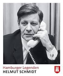 <b>Helmut Schmidt</b> auf einem Panini Hamburg Sammelbild. - 13162-Helmut-Schmidt-Panini-Hamburg