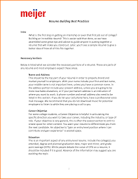 7 Resume Introductions Examples Happy Tots