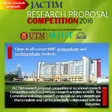 Jactim Research Proposal Competition 2016 | The Official Website Of ...