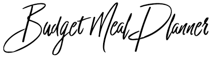 Meal Budget Planner Budget Meal Planner Eat Better For Less