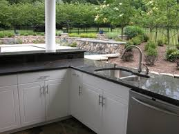Outdoor Kitchen Countertops Outdoor Kitchen Cabinets Polymer Concrete Countertops Stucco Best
