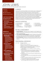 It Programme Manager Cv Examples Professional Resume Templates