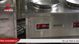 Bếp từ đơn và bếp từ đôi công nghiệp mặt lõm giá rẻ nhất thị trường -  YouTube