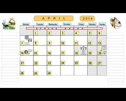 Monthly Calendar 2013 Monthly Calendar Pages For School Year 2013 2014