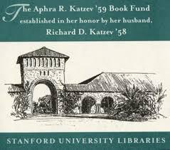 The Aphra R. Katzev '59 Book Fund