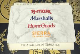 tj ma giftcard merchcards 95 94 marshalls homegoods homesense sierratrading 1 of 1