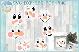 Free vector icons in svg, psd, png, eps and icon font. Free Svgs Download Snowman Face Bundle Svg Dxf Eps Png Pdf Files For Cricut Free Design Resources