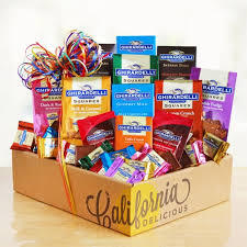 rainbow of chocolate ghirardelli collection