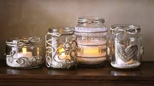 Decorate Jar Candles Diy Decorate Candle Jars YouTube 6