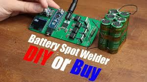 <b>Battery Spot Welder</b> (CD Welder) || DIY or Buy - YouTube