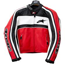 alpinestars non perforated leather motorcycle jacket