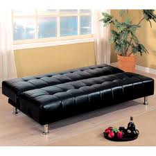 leather sofa bed and its benefits black leather32