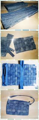 Diy: Small Checkerboard Bag Good way to use the left over denim from the  shorts