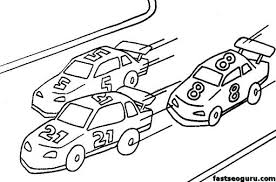 Cool Free Race Car Coloring Pages Cars To Color Printable Race Car