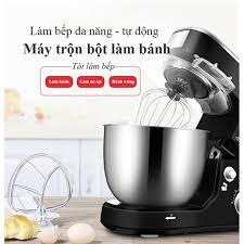 Máy trộn bột, nhồi bột, đánh trứng tự động Shinechef làm bánh, bột mì, –  Maianhstore