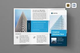 tri fold brochures 20 best tri fold brochure templates word indesign design shack