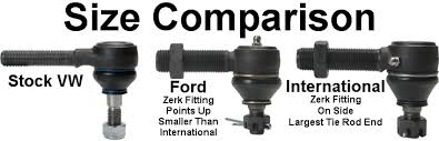 Tie Rod End Size Chart Replacement International Tie Rod End Right Hand 3 4 16