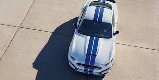 ford mustang top view. 2017 ford mustang shelby gt350 white exterior top view