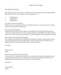 Employment Termination Letters – Eukutak