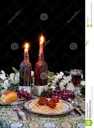 Italian Table Setting Italian Dinner Table Setting Stock Image Image 34191651