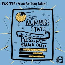 Math Matters Adding Quantifiable Statistics To Make Your Resume Pop