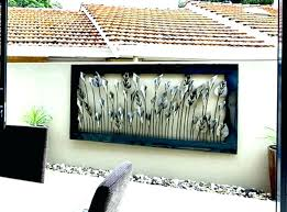 outdoor wall decor large outdoor wall art large metal decor palm tree ideas