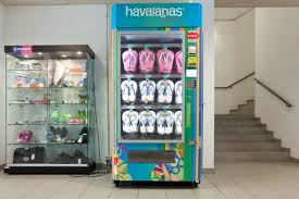 Havaianas Vending Machine Locations Simple Havaianas Vending Machine Radiant Radiant By Lauren Zeinfeld