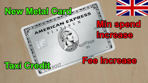 Maybe you would like to learn more about one of these? Uk Amex Platinum Adds Metal Card Upgrades Youtube