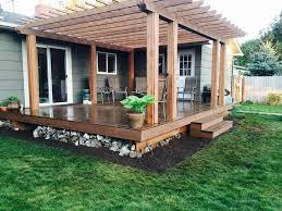 pergolas skyline deck construction trex decking cedar wood patio chairs cedar wood patio cover kits