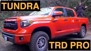 2015 Toyota Tundra TRD Pro - Review & Test Drive + Off-Road - YouTube