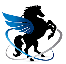 Online Logo Maker Free winged horse Logo Template