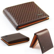 kids small soft and thin bifold brown very cute boys mini leather wallet gift for