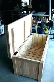 outdoor storage bench waterproof best wooden with cushion diy outdoor storage bench