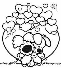 Woezel En Pip Coloring Page Arte Knutselen Thema Valentijn