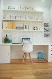 home office drawers. S\u0026D Home Office Makeover Reveal! Ikea Alex Drawer Unit.Ikea Lacks Floating Shelves, Drawers