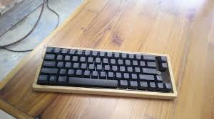 Build Your Own Wooden Keyboard Case